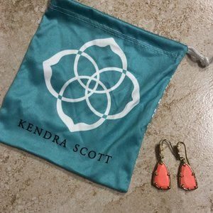 Kendra Scott Salmon Earrings
